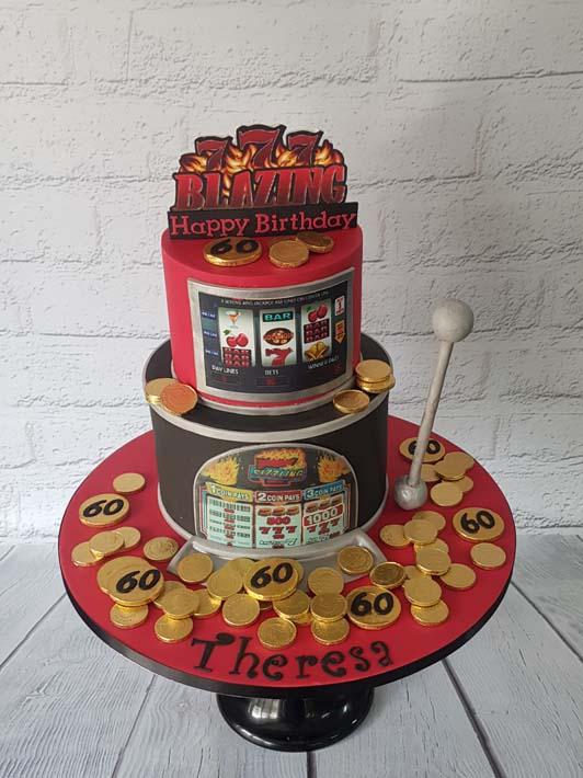 2 Nice 2 Slice Celebration Cakes