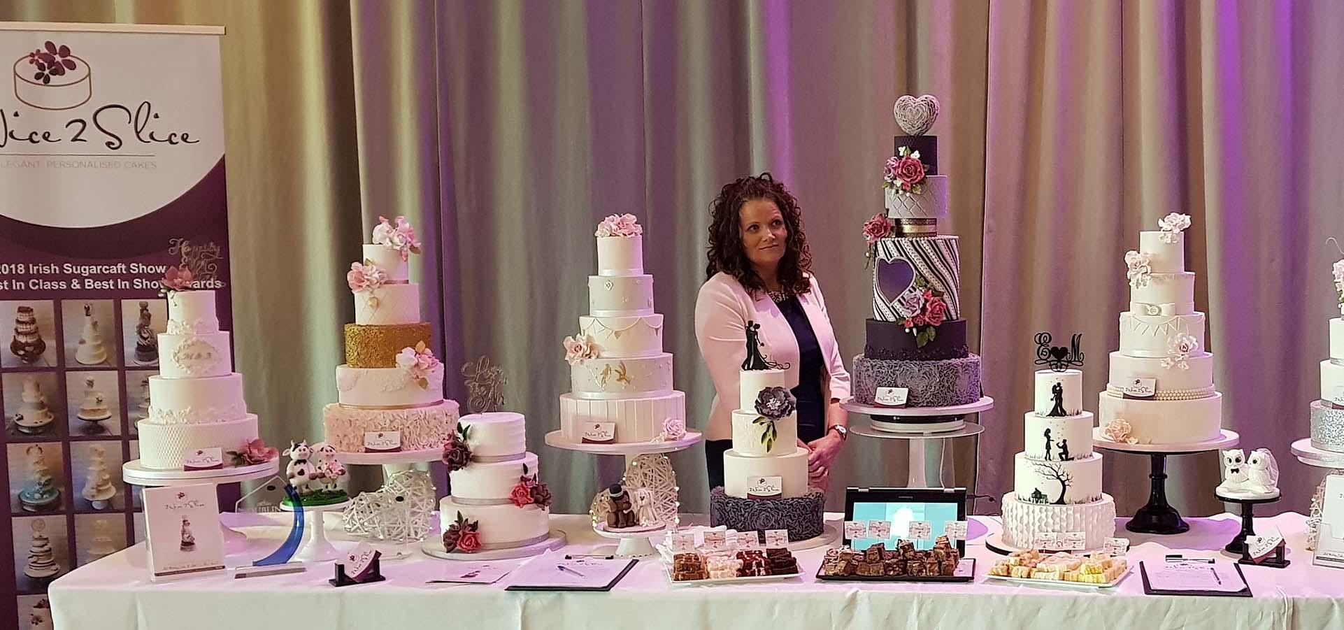 Wedding Cakes - 2 Nice 2 Slice