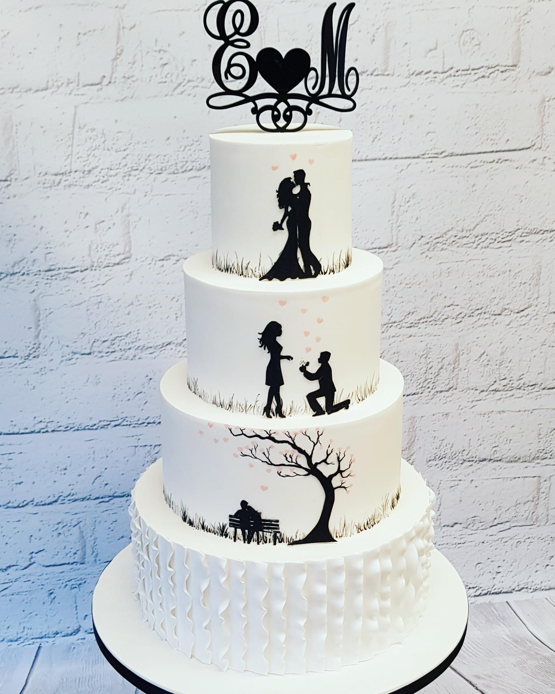 Wedding Cakes 2 Nice 2 Slice